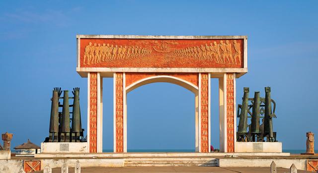 Slavery monument cotonou