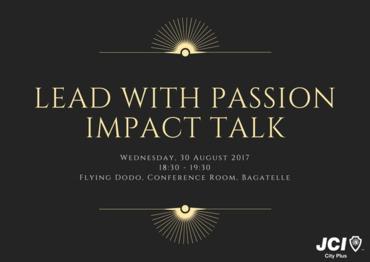 Jci city plus   lead with passion impact talk