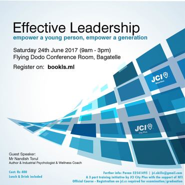 Jci city plus   effective leadership training