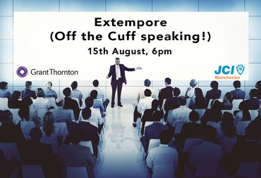Jci ps extempore off the cuff speaking