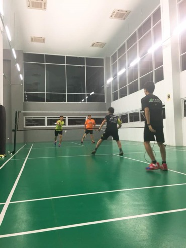 20180515 jcipj socializing gathering  %c2%a0the badminton 3