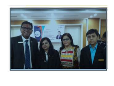 Jci baroda metro organised national president visit