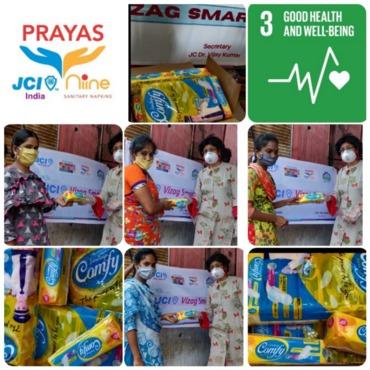 Jci vizag smart conducts prayas day 6 on 22 june 2020