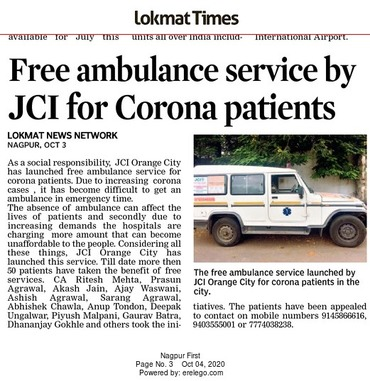 Free ambulance services reported