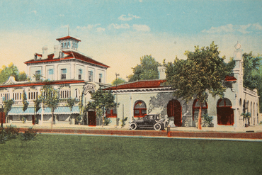 1915 mission inn post card 1